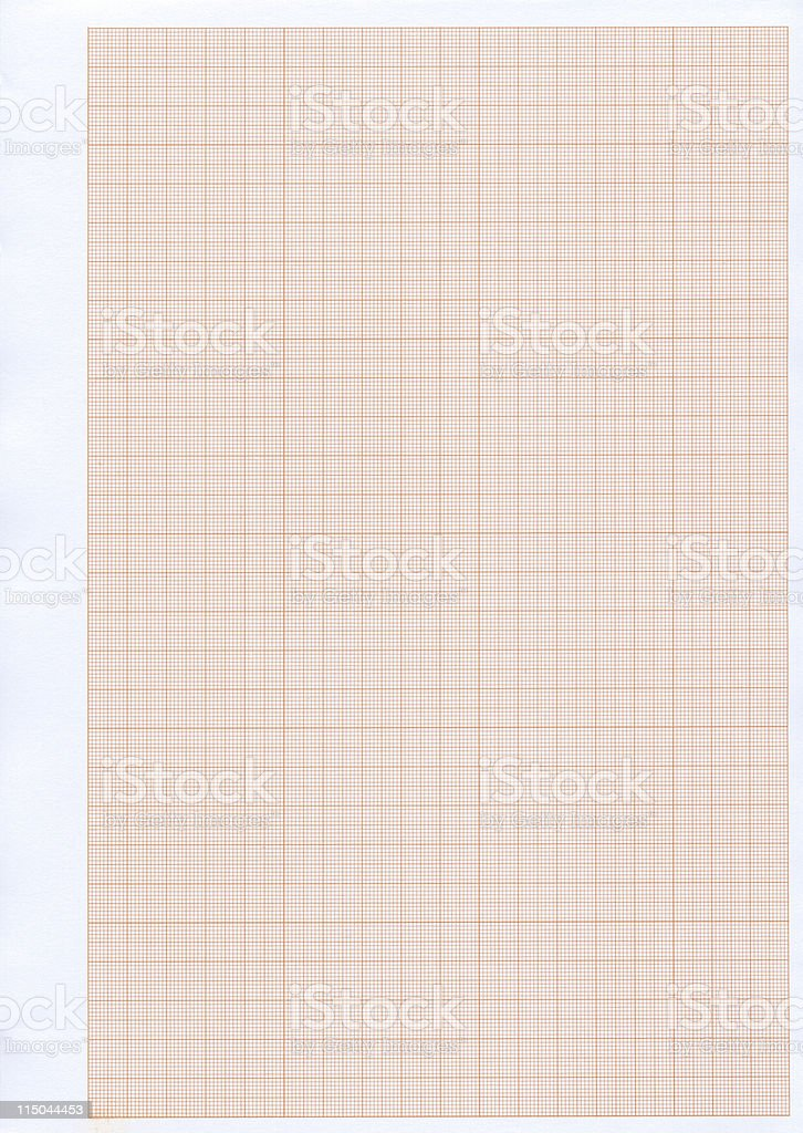 Graph paper XXL royalty-free stock photo