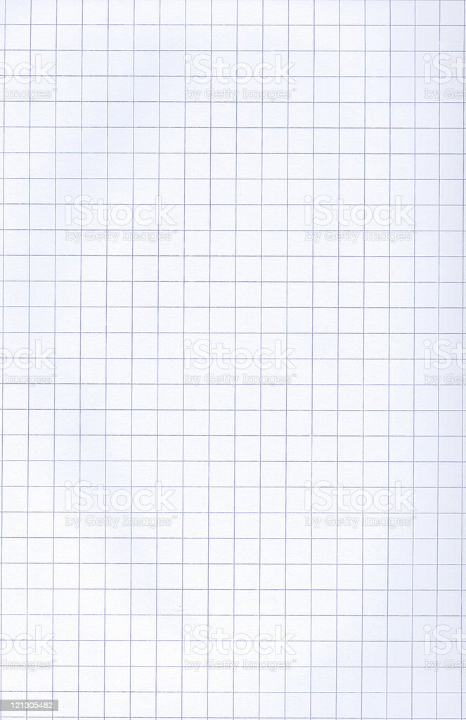 Graph Paper XXL stock photo