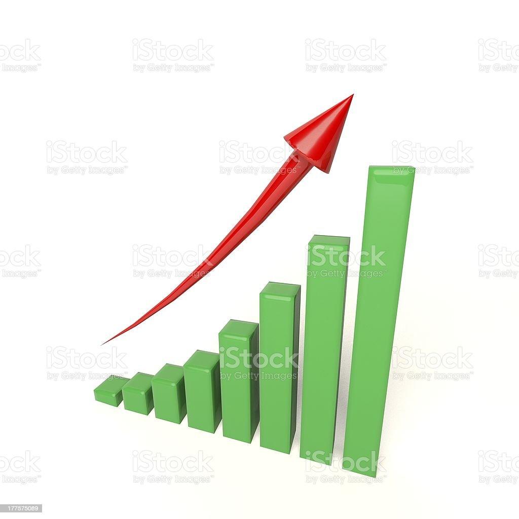 Graph royalty-free stock photo