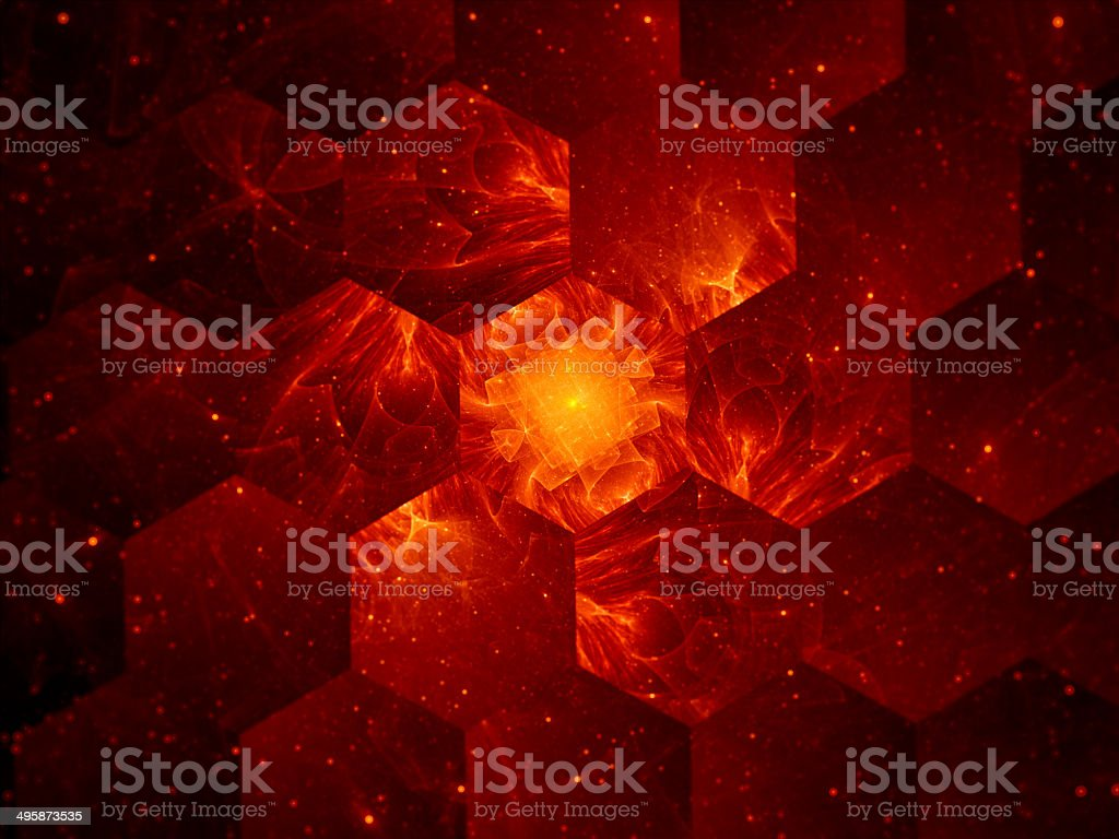 Graphene grid abstract background, nanotechnology royalty-free stock photo