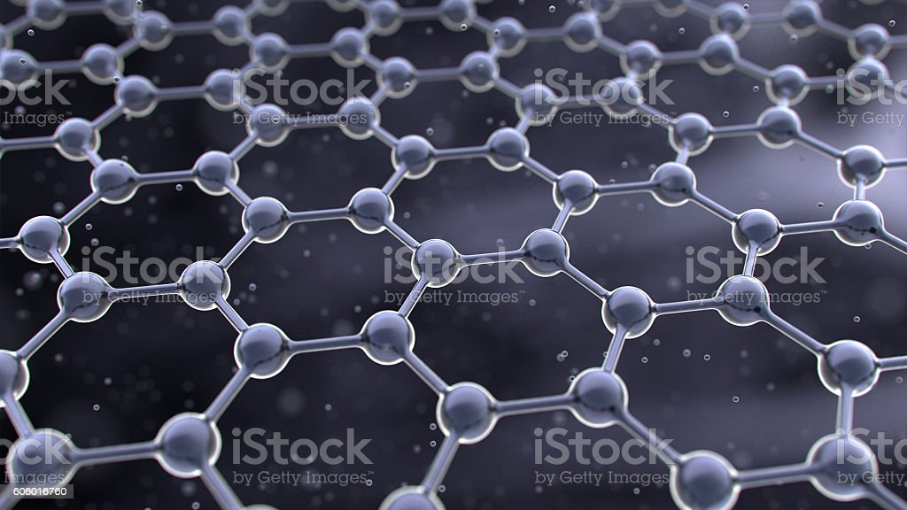 graphene stock photo