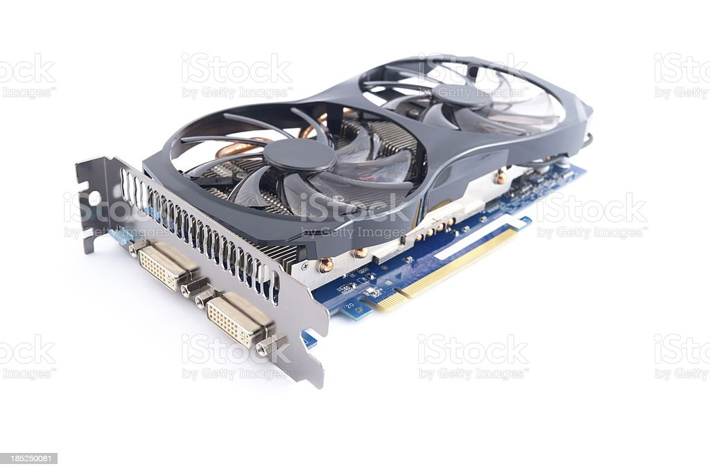 Graphic Card royalty-free stock photo