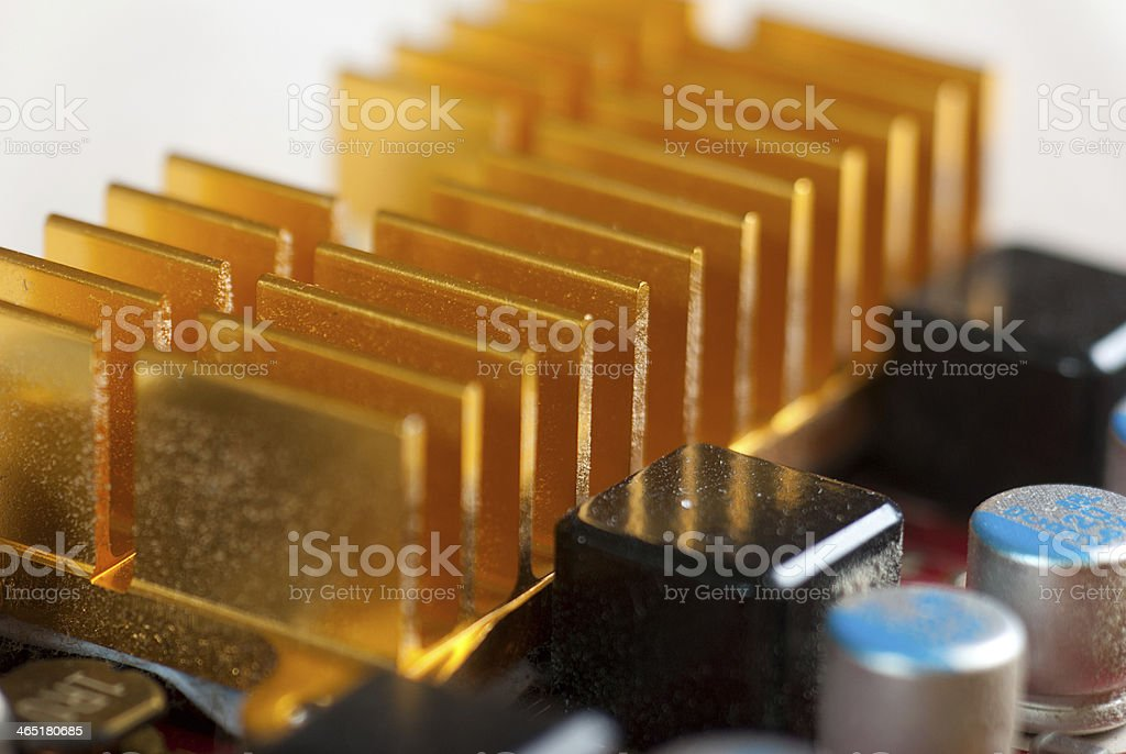 Tarjeta gráfica foto de stock libre de derechos