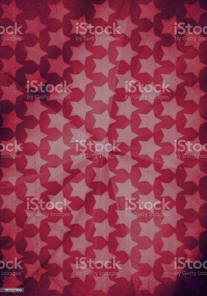 Graphic Design (Vintage Background) - Made In USA royalty-free stock photo