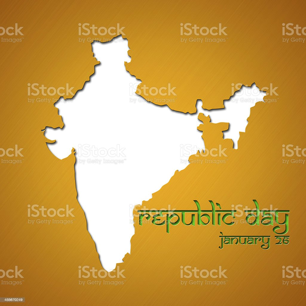 Graphic design Republic Day in India related stock photo