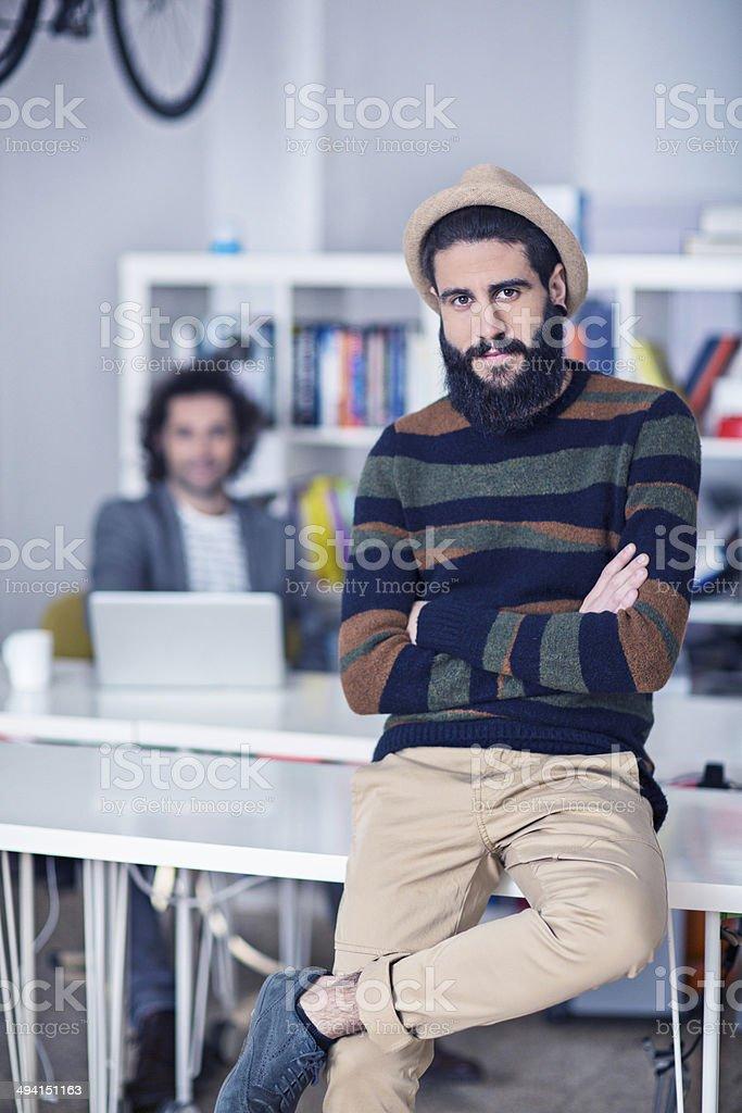 Graphic designer royalty-free stock photo
