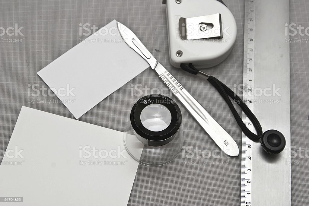 Graphic Tools royalty-free stock photo