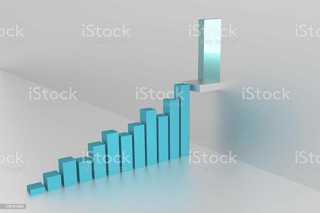 Graphics - Good Results royalty-free stock photo