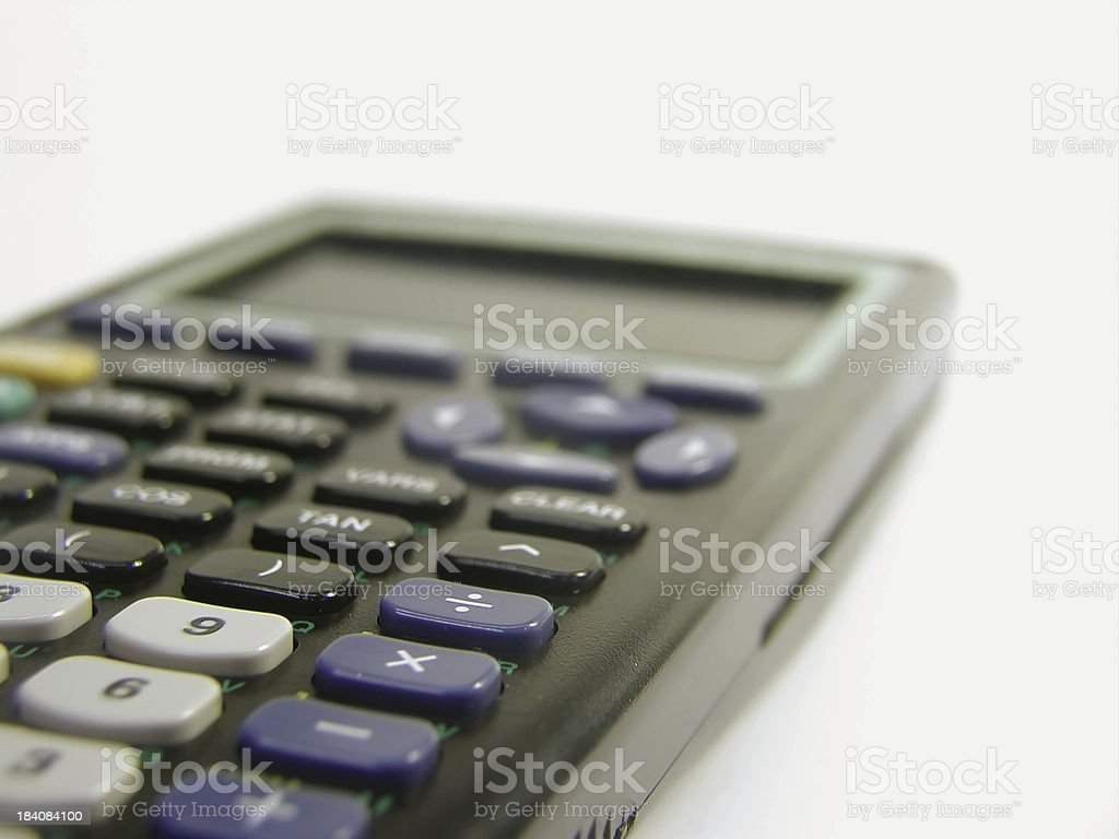 Graphing Calculator royalty-free stock photo