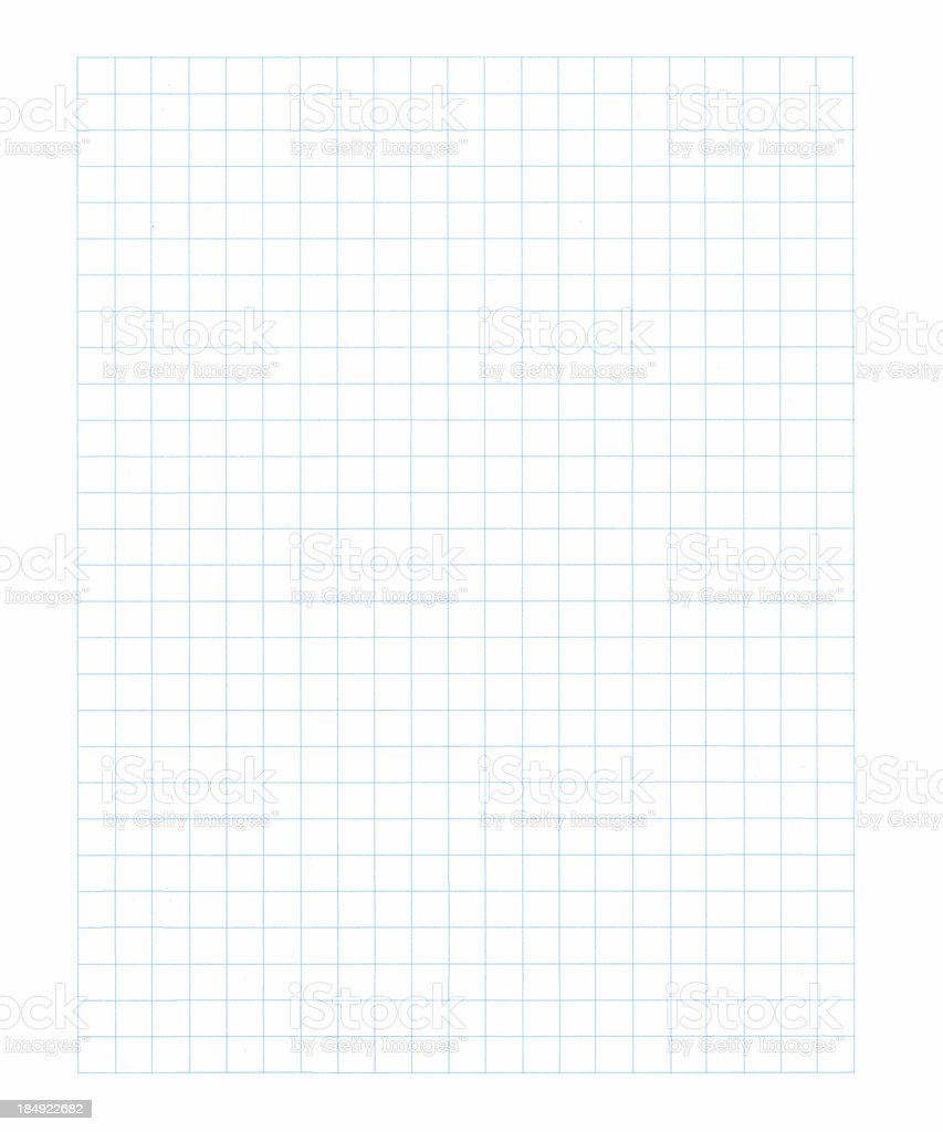 Graphing Paper XL royalty-free stock photo