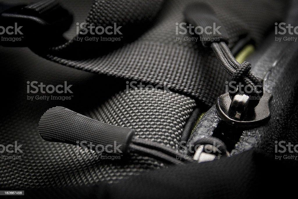 Graphite Baggage stock photo