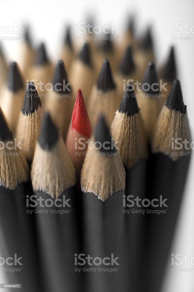 Graphite pencils royalty-free stock photo