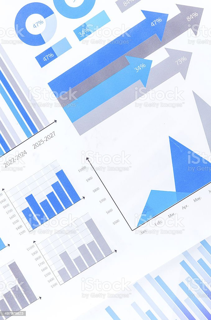 Graphs royalty-free stock photo