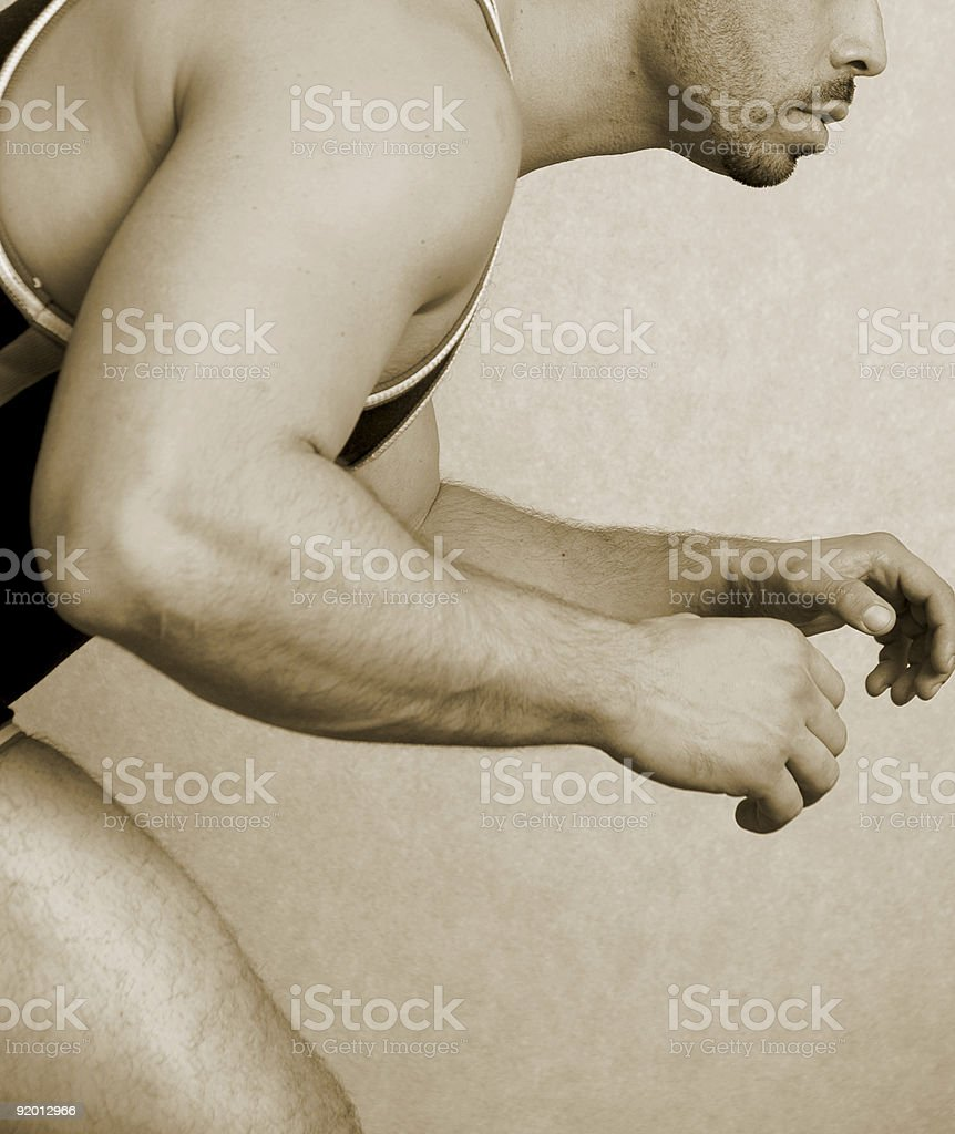 Grappler stock photo