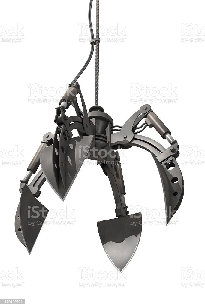 grappling claw royalty-free stock photo