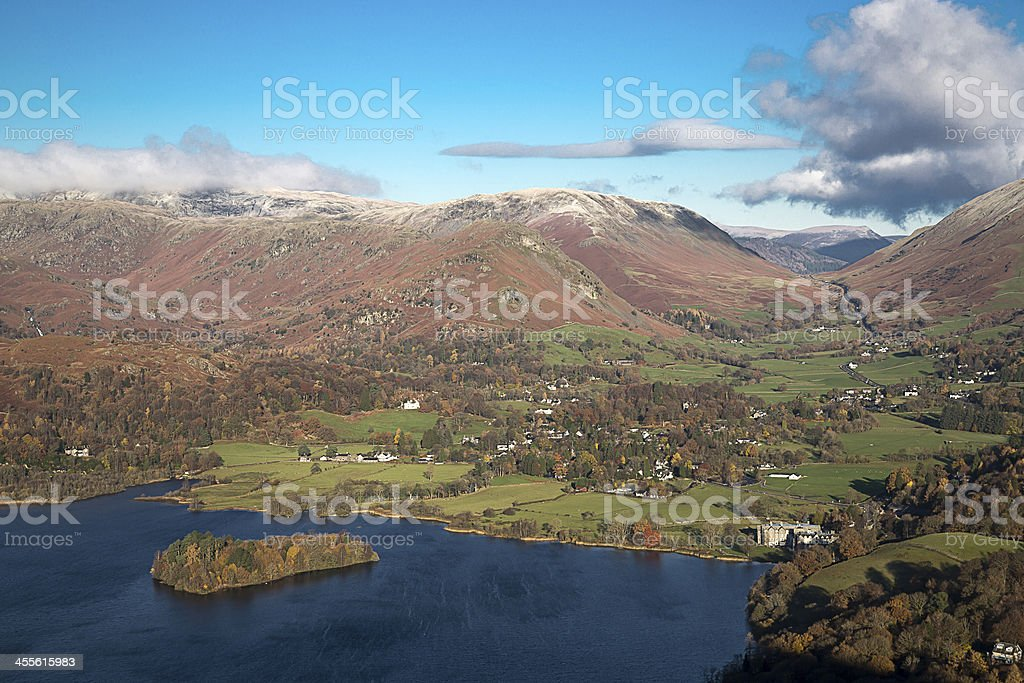 Grasmere In The English Lake District stock photo