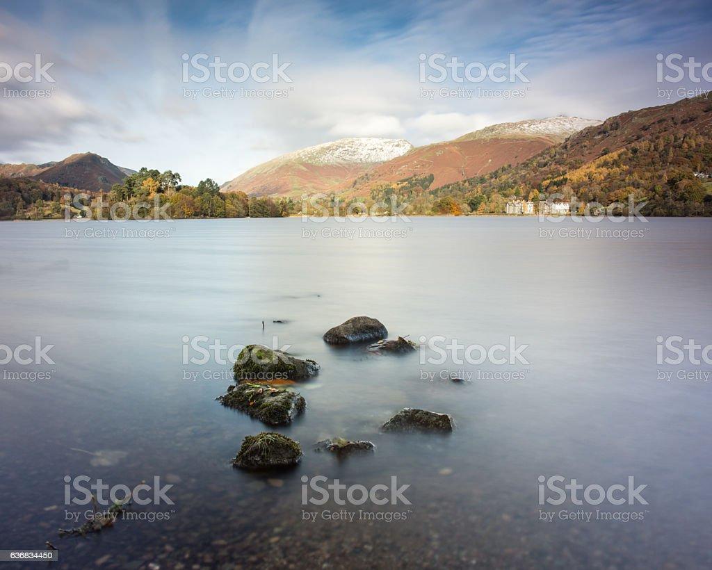 Grasmere lake stock photo