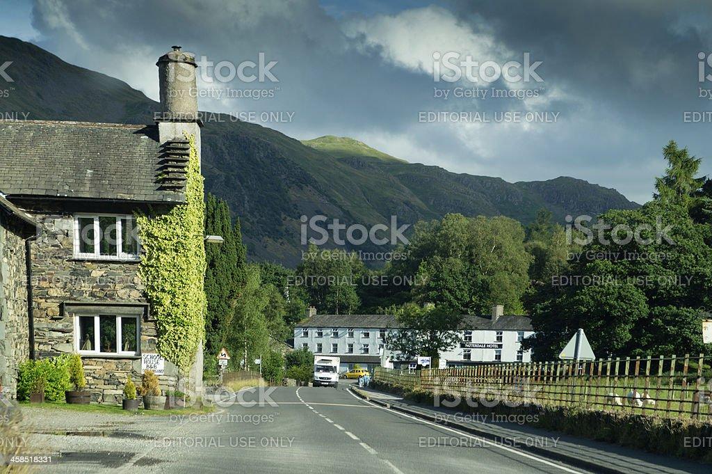 Grasmere village royalty-free stock photo