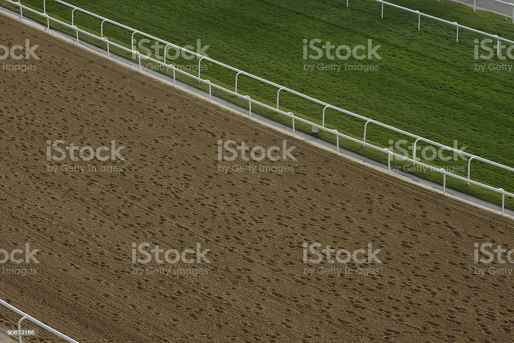 Grass and Sand 1 royalty-free stock photo