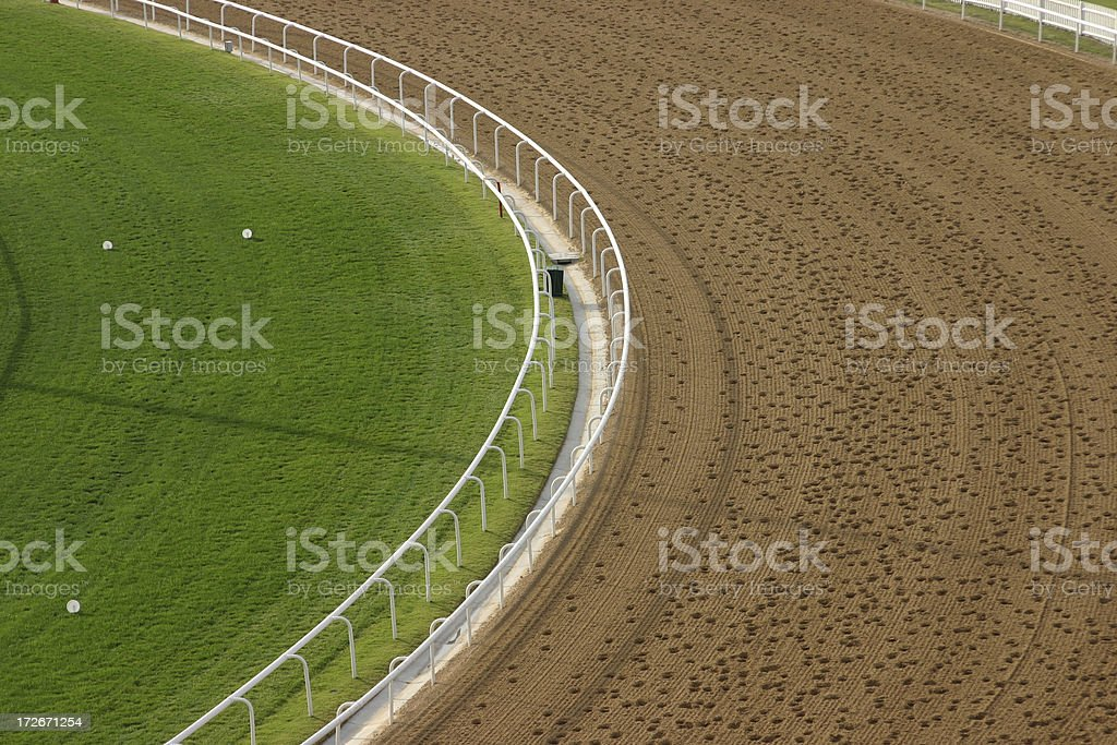 Grass and Sand 3 royalty-free stock photo