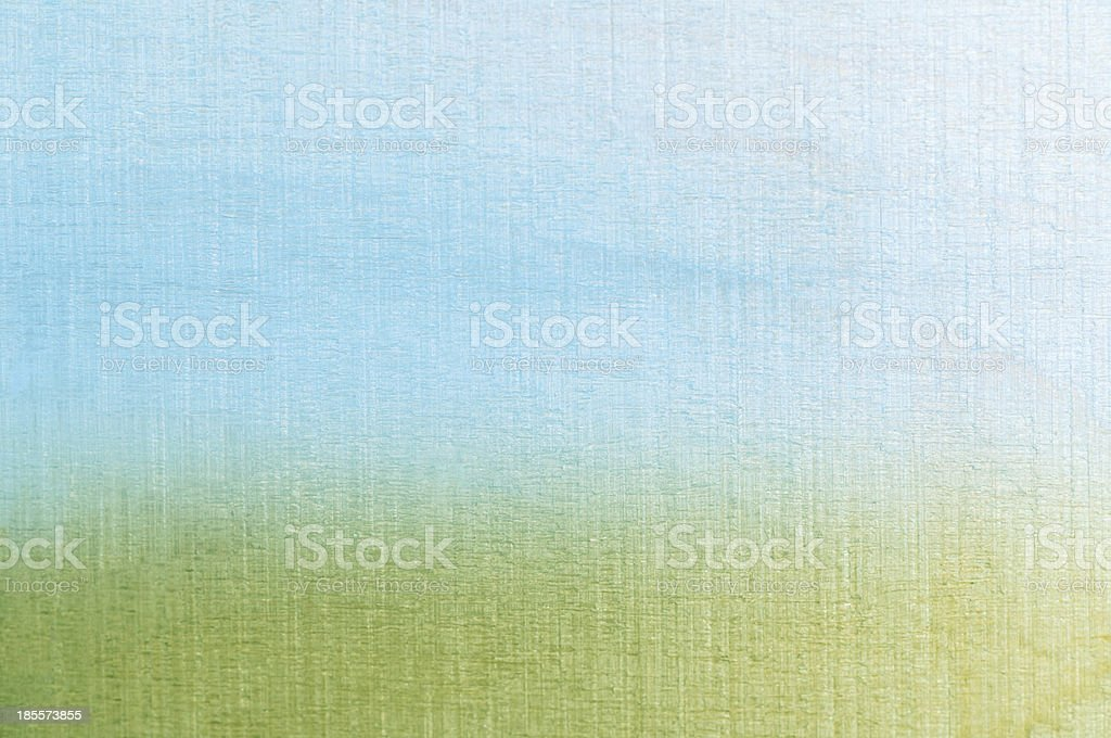 Grass and Sky Textured Background stock photo