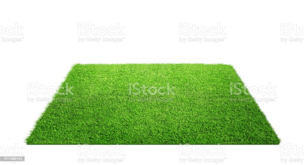 Grass carpet stock photo