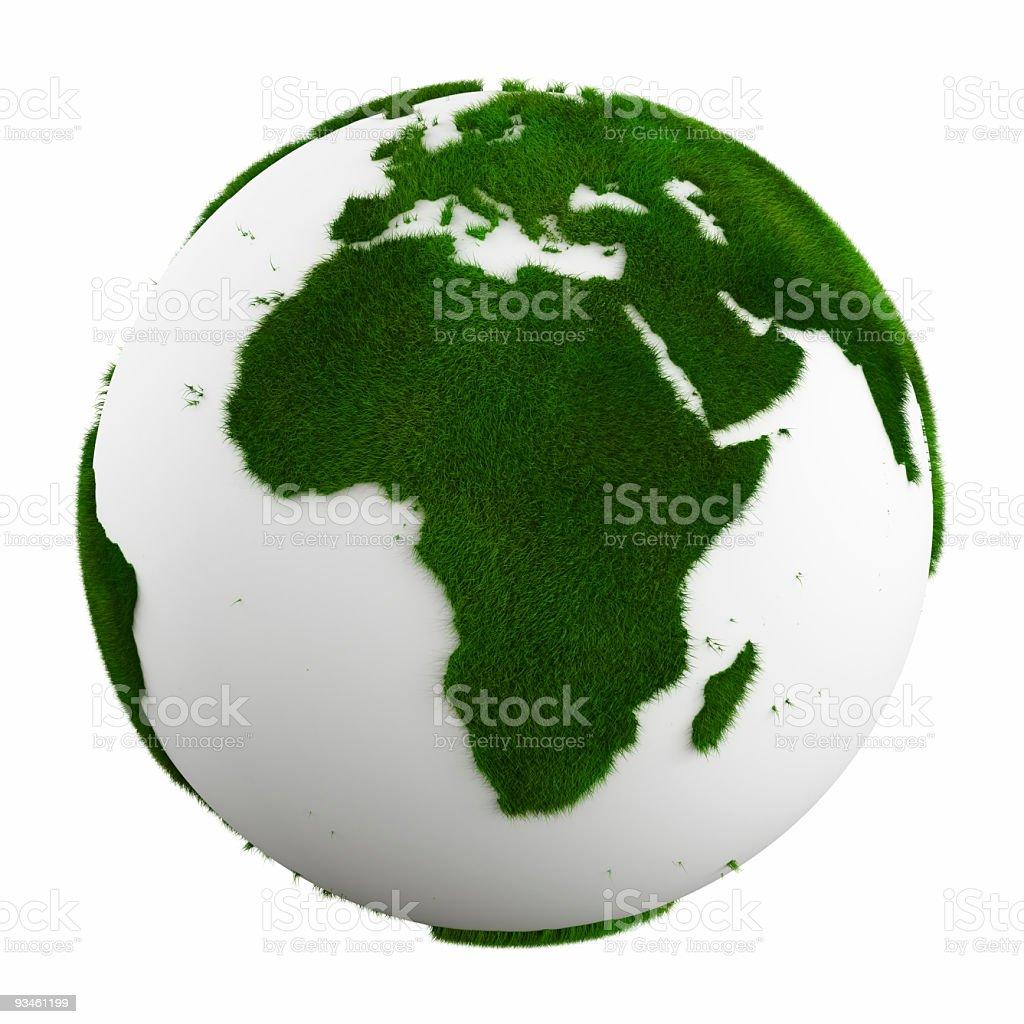 grass earth - affrica stock photo