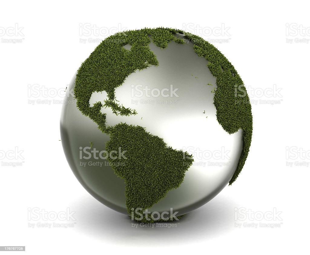 Grass Earth royalty-free stock photo