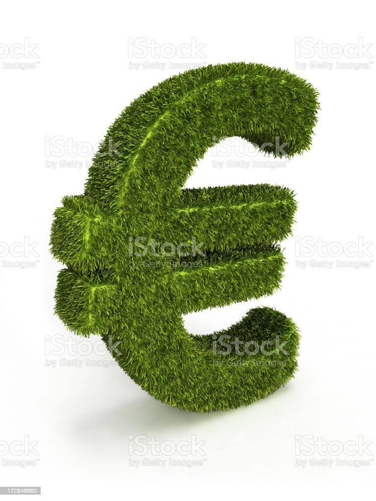 grass euro royalty-free stock photo