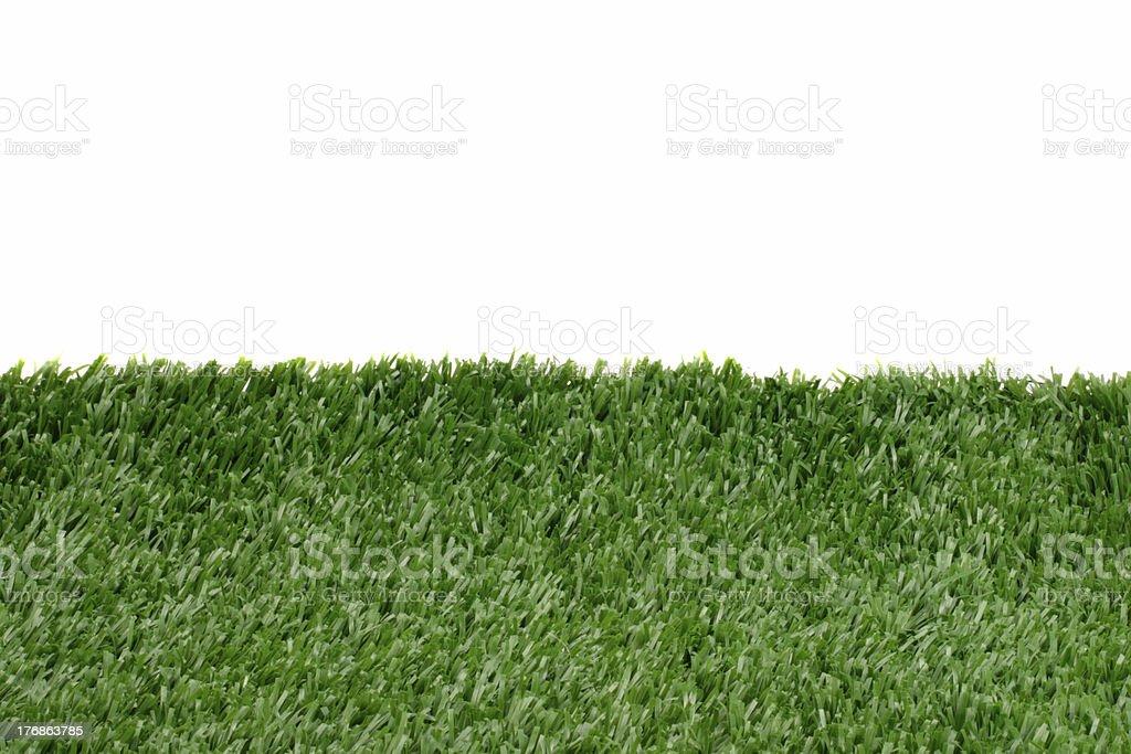 Grass in the horizon stock photo