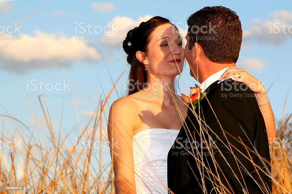 Grass Kiss royalty-free stock photo