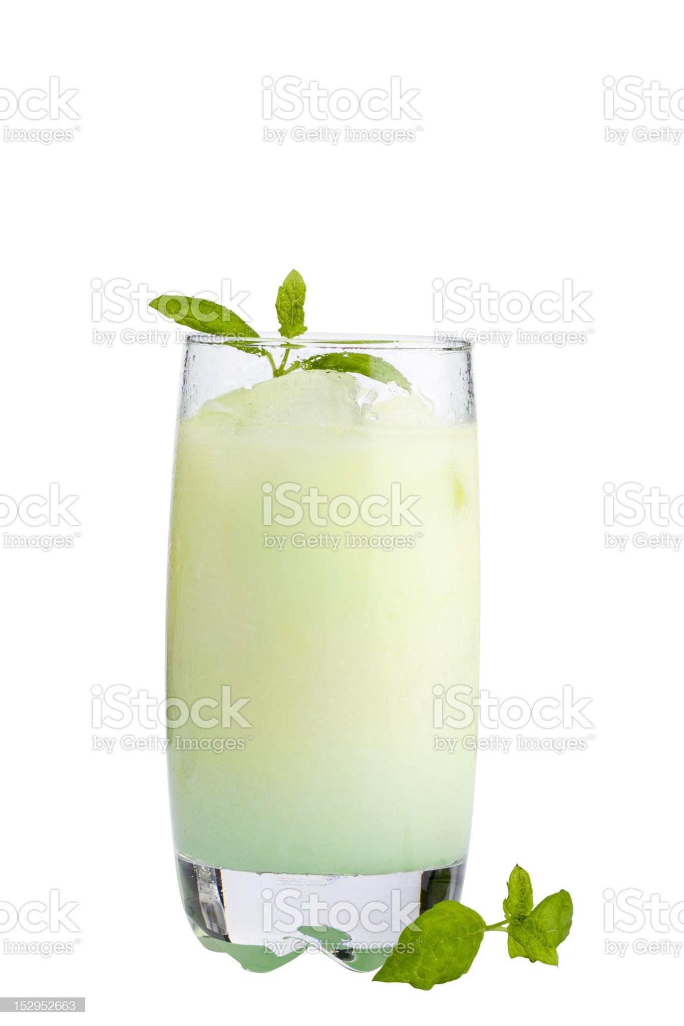 Grasshopper cocktail royalty-free stock photo
