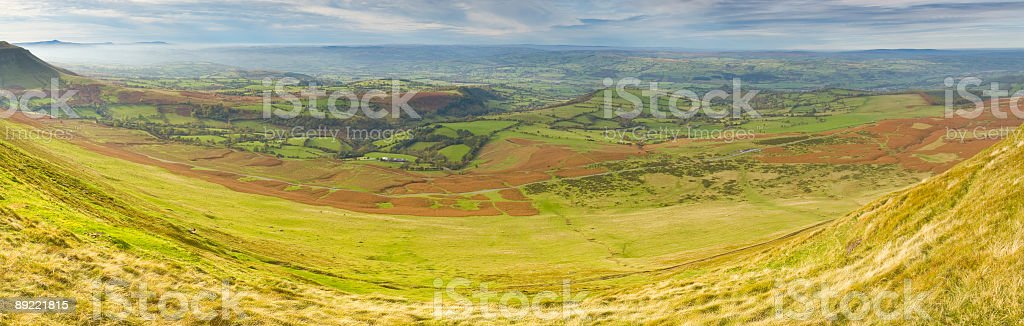 Grasslands and pasture royalty-free stock photo