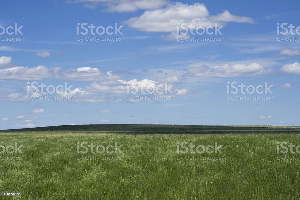 Grasslands National Park of Canada stock photo