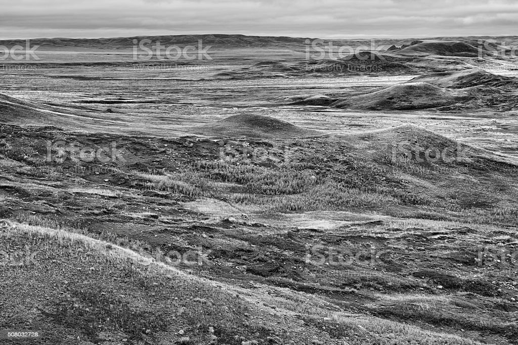 Grasslands National Park stock photo
