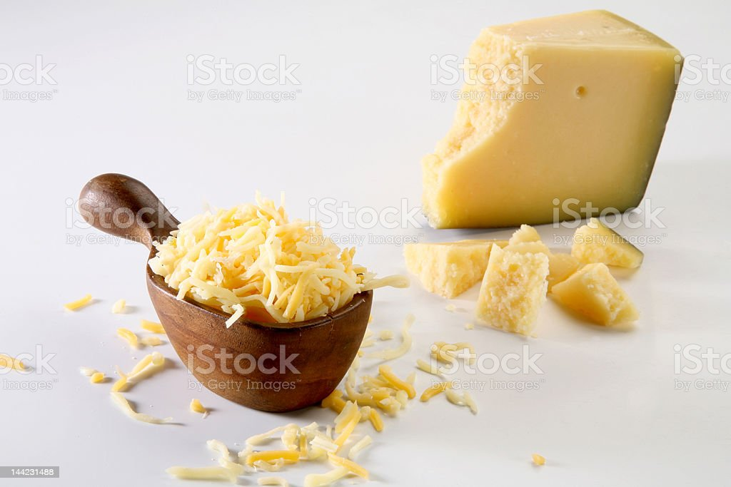 Grated cheese royalty-free stock photo