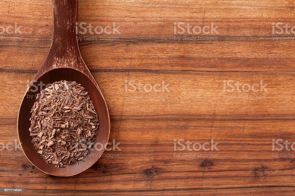 Grated milk chocolate stock photo
