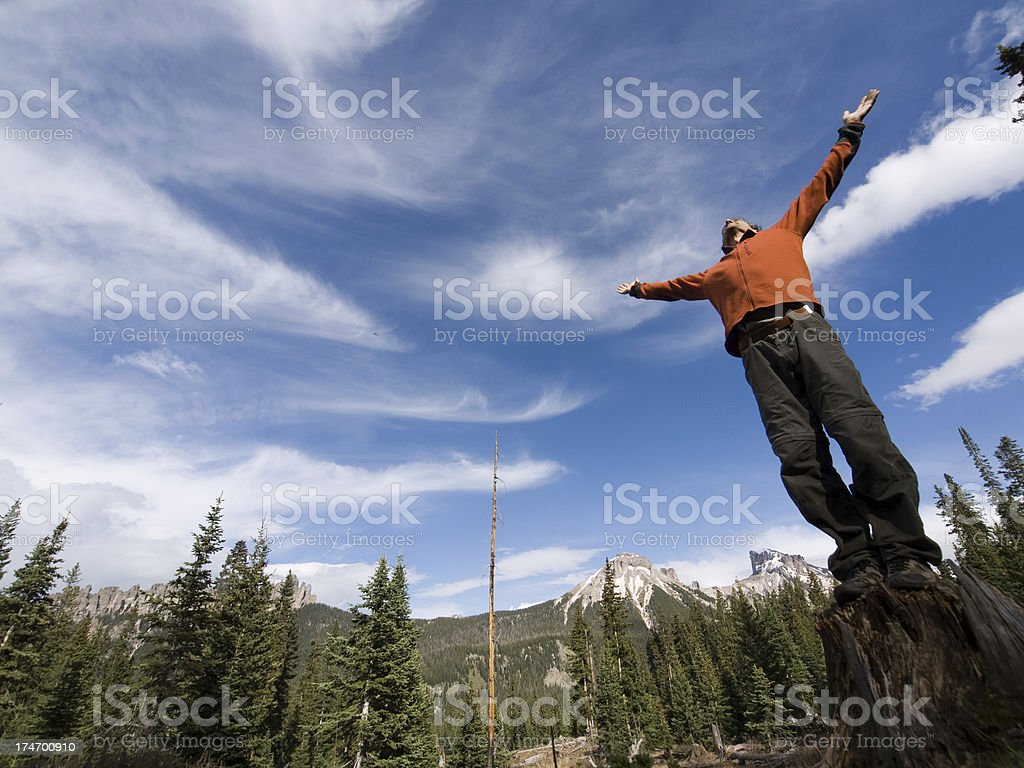 grateful to be alive royalty-free stock photo