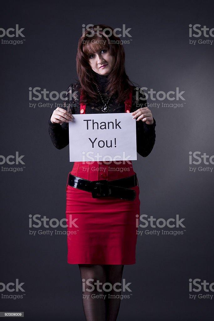 gratitude royalty-free stock photo
