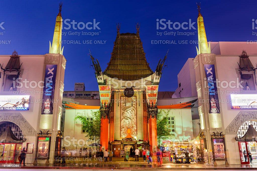 Grauman's Chinese Theatre stock photo