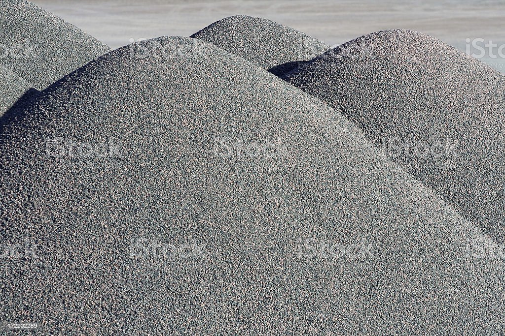 Gravel Abstract - 4 stock photo