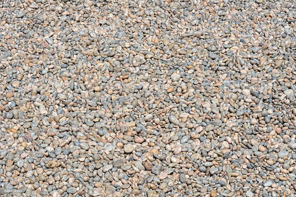 gravel of a beach - larger then XXXL stock photo