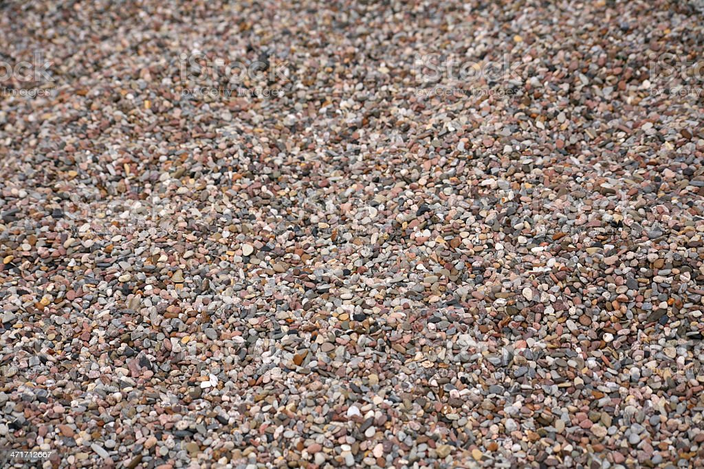 Gravel stock photo
