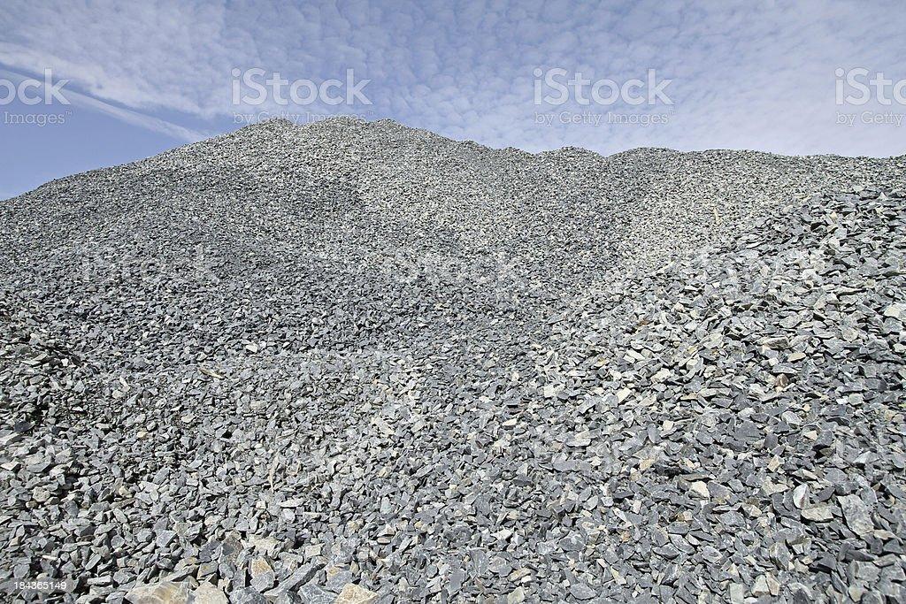 Gravel Pile stock photo