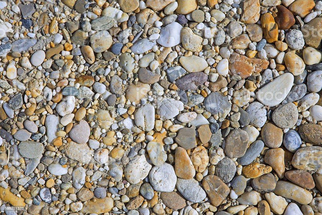gravel stone background stock photo