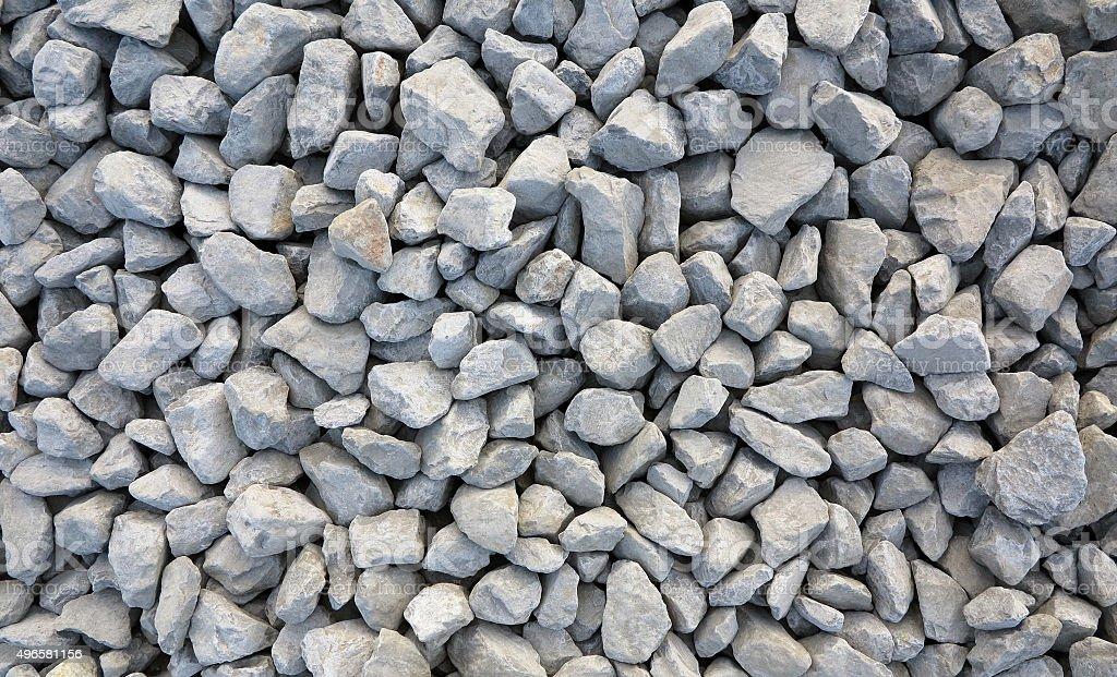 Gravel - Stone Pattern stock photo
