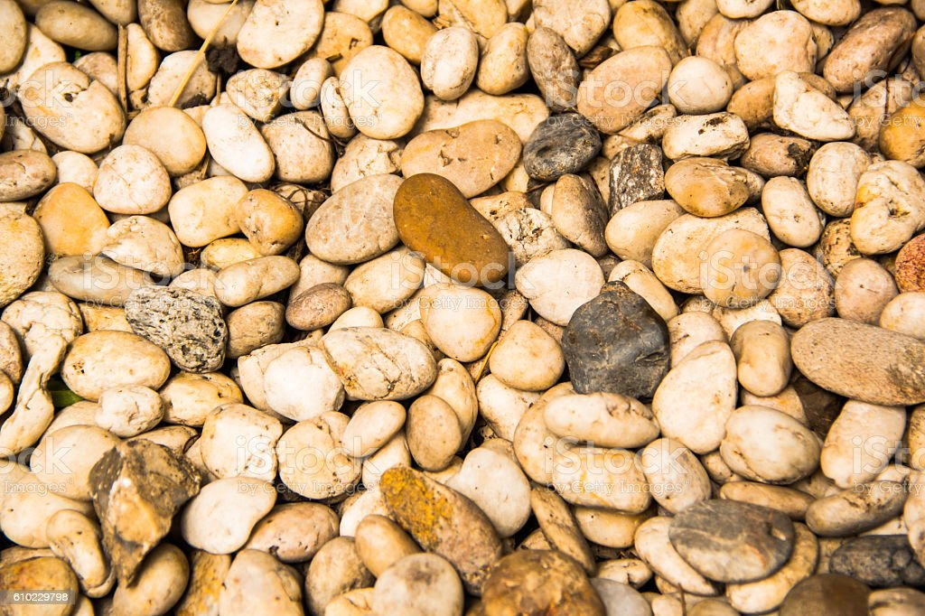 gravel stone stock photo