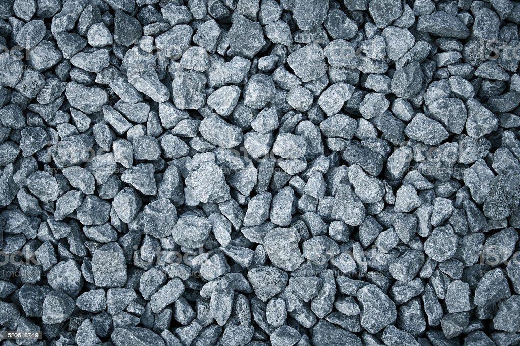 Gravel stones background stock photo