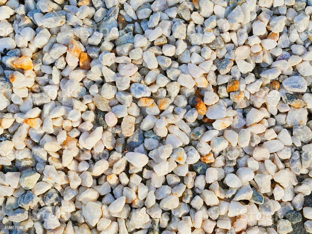 Gravel texture stock photo