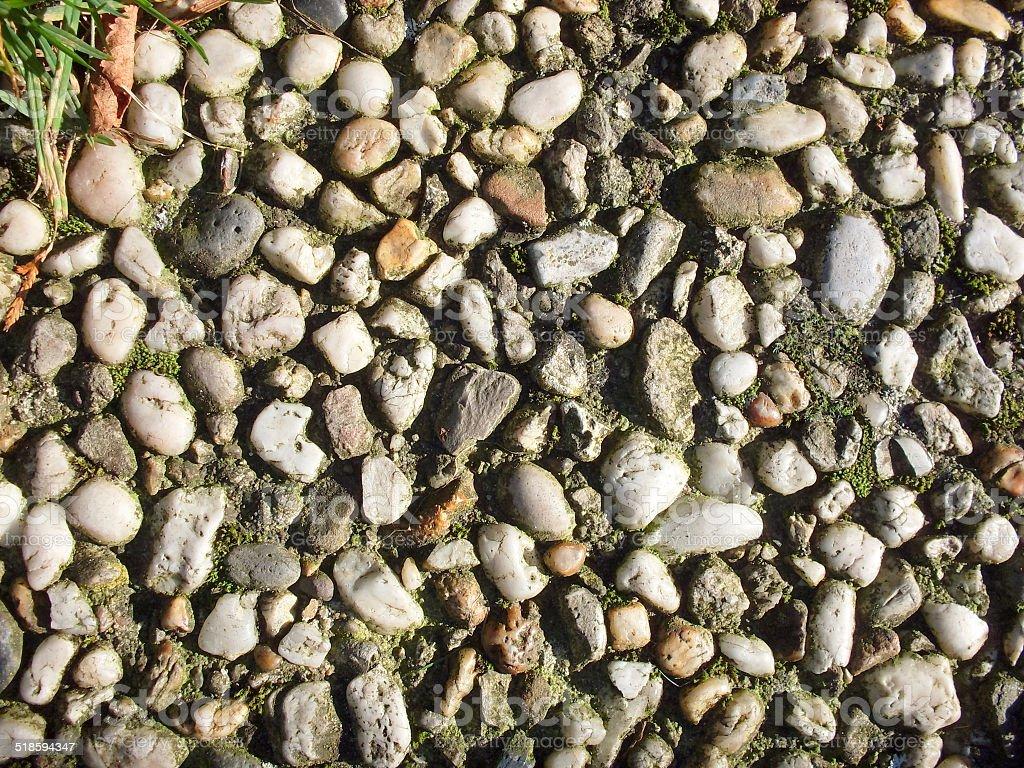 Gravel tile royalty-free stock photo
